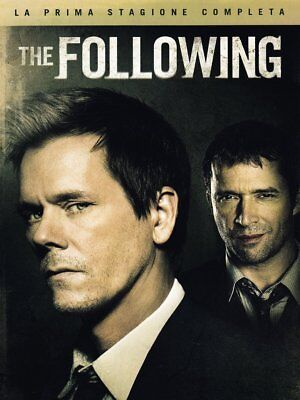 The Following stagione 1  (01) (4 DVD) Serie TV 	- Kevin Bacon