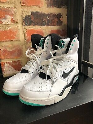 online store f679f be6fe Nike Air Command Force Pump David Robinson Billy Hoyle Silver 684715 102 SZ  10