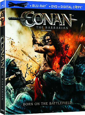 Conan the Barbarian [Blu-ray+DVD] New and Factory Sealed!!
