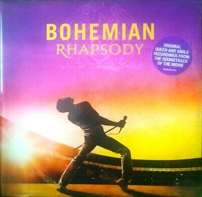 Bohemian Rhapsody Soundtrack 2 LP VINYL Queen Double Album Record Canada Import