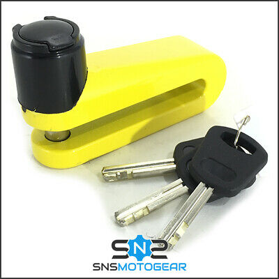 Rocksolid Motorcycle Motorbike Security Trigger2 Disc Lock - 5.5mm Pin