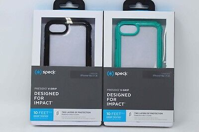 """Speck Presidio V-Grip Case Cover for iPhone 8 iPhone 7 iPhone 6s 4.7"""""""