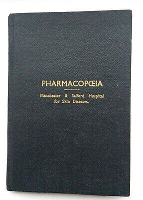 Pharmacopoeia - vintage medical book from 1966, signed by the Editor