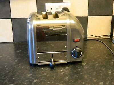 Dualit 2 Slice Toaster stainless steel and chrome finish