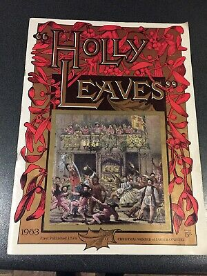 Holly Leaves Volume: Christmas Edition 1963