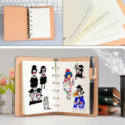 1pc Notepad A7 Loose-leaf Pocket Planner Notebook for Teachers Workers Travelers
