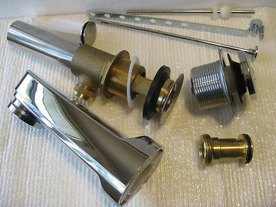 LOT Bathroom Sink Drain Tub DELTA Spout
