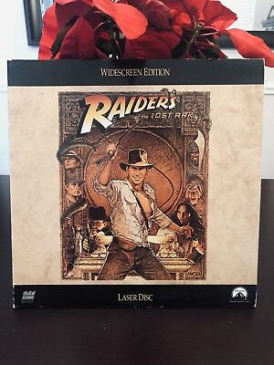 Raiders of the Lost Ark (1981) - Laserdisc Widescreen Edition - Harrison Ford