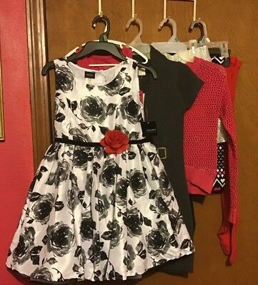 Girls Mixed Lot Clothing Size 7/8 , 8 piece