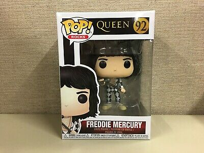 Funko Pop! Rocks: Queen Freddie Mercury with Mic in Hand #92 New In Box