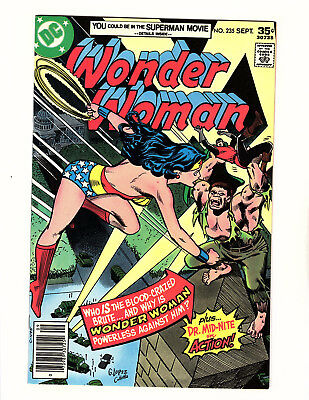 Wonder Woman #235 (1977, DC) VF/NM Vol 1 Garcia-Lopez Cover Dr Mid-Nite