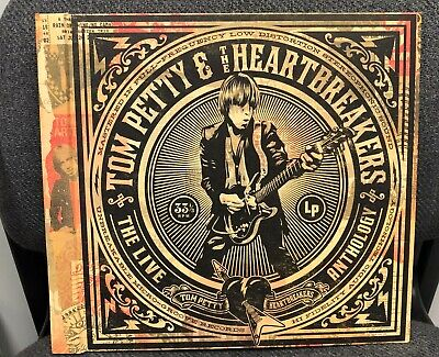 Tom Petty & The Heartbreakers The Live Anthology Vinyl 7LP Set (Used, Ex)