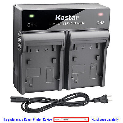 Kastar Battery Dual Rapid Charger for Canon NB-13L CB-2LH & PowerShot SX620 HS