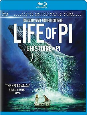 Life of Pi 3D - Collector's Edition  [Blu-ray 3D+Blu-ray+DVD] New and Sealed!