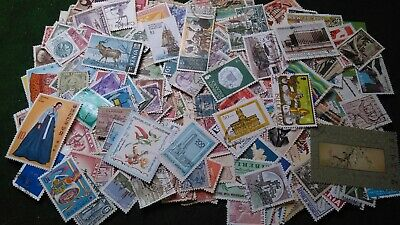 500 + Worldwide stamps mostly all diff, mostly used D