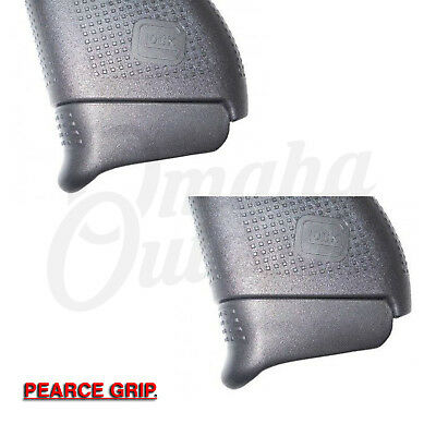 Pearce Grip for Glock 43 +1 Magazine Plus Extension PG-43+1 Pack of 2