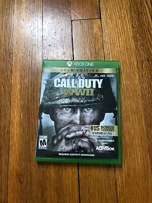 Call of Duty: WWII Gold edition Microsoft Xbox One)