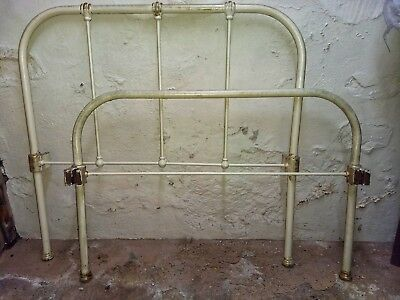 Victorian Cast Iron Single Bed Frame French County