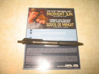 Midnight Sun (Blu-ray, 2018) **CANADIAN DIGITAL CODE ONLY** **READ**