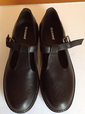 Damenschuhe Halbschuhe & Ballerinas Ladies Spot On Black Patent Loafers F8r0297