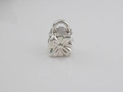 cb0b12e44ce1b AUTHENTIC RARE TIFFANY & Co Silver Gift Box Charm Used for Necklace Bracelet