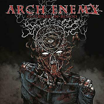 Covered in blood by Arch Enemy (Cd, jewel case, Brazil, 2018)