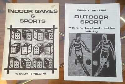 Wendy Phillips patterns, INDOOR GAMES & SPORTS and OUTDOOR SPORT