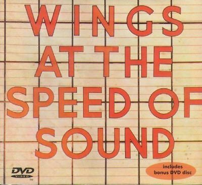 PAUL McCARTNEY Wings at the Speed of Sound CD + DVD (ROCKSHOW)