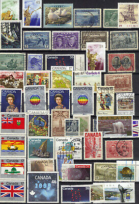 Stamps Canada Lot Of 50 Canadian Stamps  Ref 777 - 212