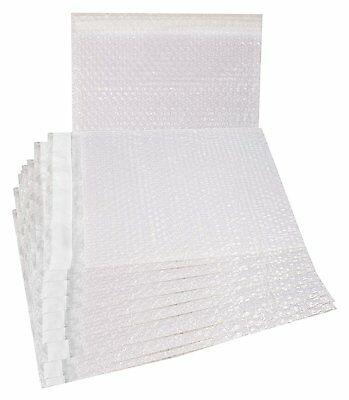 10 Pack of Bubble Out Bags 12 x 11.5. Self-Sealing Packing Moving Bags Pouch