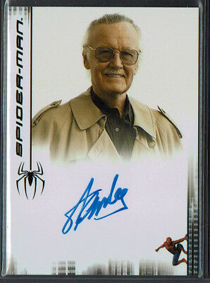 2007 Rittenhouse Spider-Man 3 Movie Stan Lee Autograph Auto Authentic