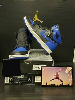 7688f512994 OG 2001 SZ 11.5 Nike Air Jordan Retro 1 Bred Chicago XI Royal Black ...