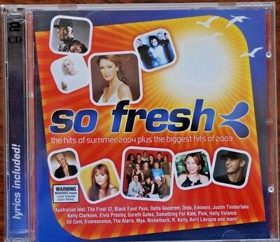 So Fresh: The Hits of Summer 2004 by Various Artists  2CD + Biggest Hits of 2003
