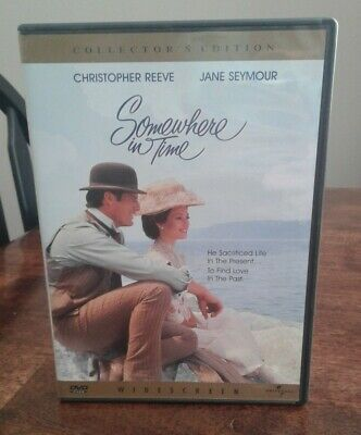 Somewhere in Time (DVD 2000 Collector's Edition) Chris Reeve Jane Seymour