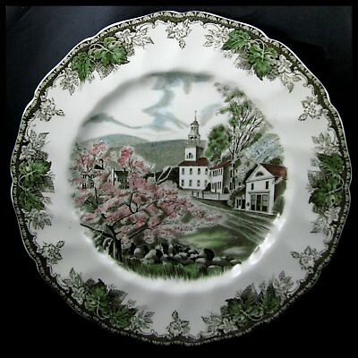 Johnson Bros Friendly Village Large Dinner Plate Village Green More Pieces Avail