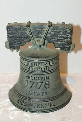 Bicentennial Liberty Bell Door Stop Cast Iron Vp Bicentennial Collection 1976