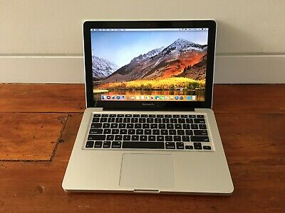 """Macbook Pro 13.3"""" i7 2.8GHz, 4GB RAM, 750GB SATA HDD, A1278 late 2011 GREAT COND"""
