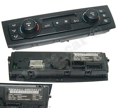 BMW 1 3 SERIES E81 E87 E90 E91 E92 Automatic Air Conditioning Controls 9128215