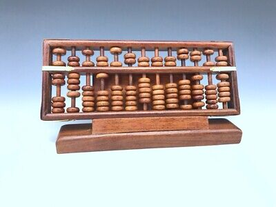 Chinese antique pure hand-carved agalloch eaglewood wood abacus