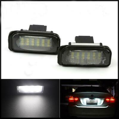 Automobiles & Motorcycles 2pcs No Error For Benz W203 Car Led License Plate Light 6000k 12v For Mercedes Benz Canbus Led Number License Plate Light Lamp A Great Variety Of Goods Car Lights