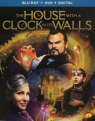 THE HOUSE WITH A CLOCK IN ITS WALLS ~ Blu-Ray + DVD + Digital *New *Sealed