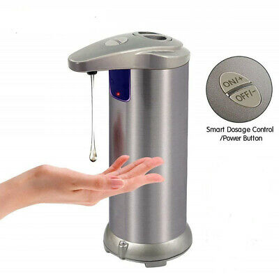 Infrared Motion Sensor Hand Wash Liquid Touchless Automatic Soap Dispenser Relia