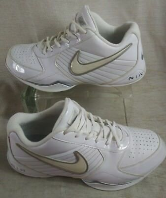 a8d41f059aa MENS SIZE 8 Nike Air Baseline Low Basketball Shoes 386240 111 White ...