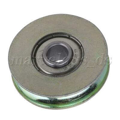 Groove Guide Pulley Rail Track Ball Bearings Passive Rolloer Wheel 6.4x32x8mm