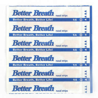 10PCS Better Breath Nasal Strips Medium Anti Snoring Sleep Right Aids Stop Snore