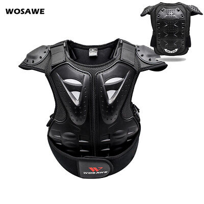 Motorcycle Armor Chest Protectors Dirt Bike Kids Child Body Spine Guard Vest