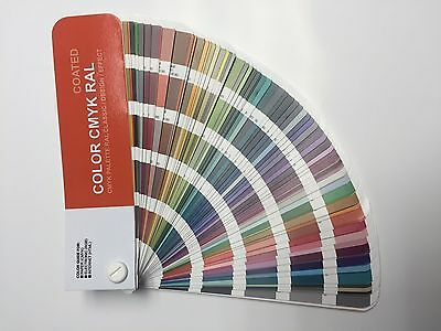 Set COLOR CMYK RAL - Color Guide RAL for  Digital Print - Coated/Uncoated