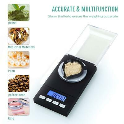 High Precision Digital Pocket Scales Jewellery Electronic Milligram 0.001g 50g