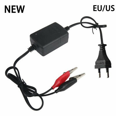 Car Auto Motorcycle DC 12V 1.5A Smart Compact Battery Charger Tender Maintainer