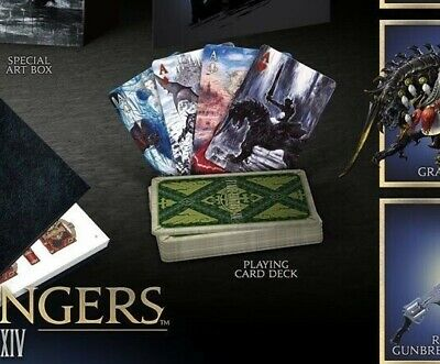 Final Fantasy XIV Shadowbringers Collector's Deck of Cards only